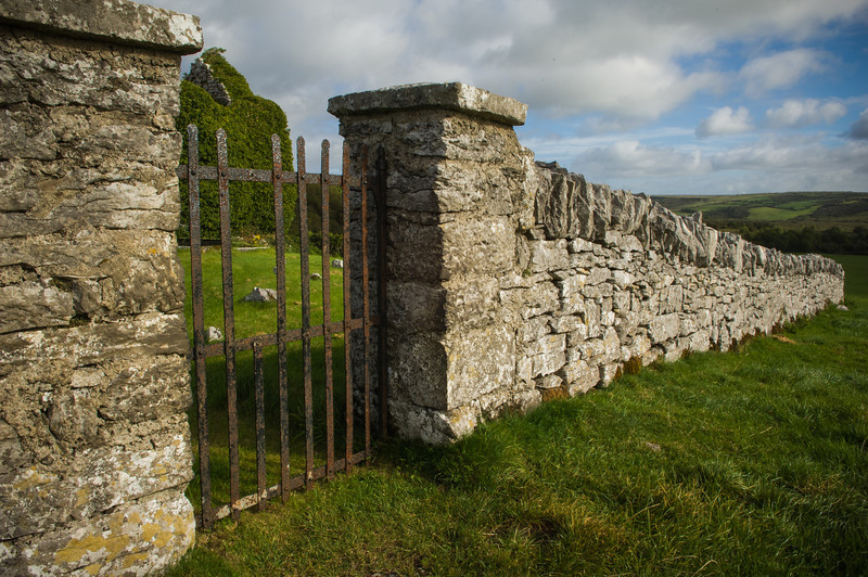 Church Gate in The Burren