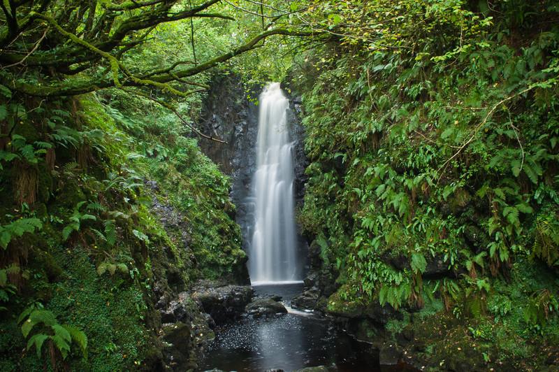 Cranny Falls Near Carnlough, Antrim Coast