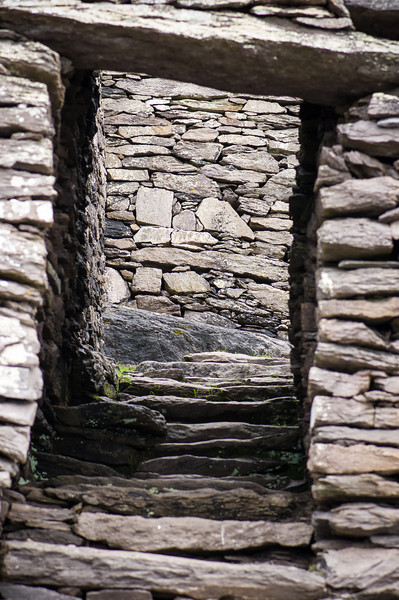 Entrance to Monastary, Skellig Michael Island