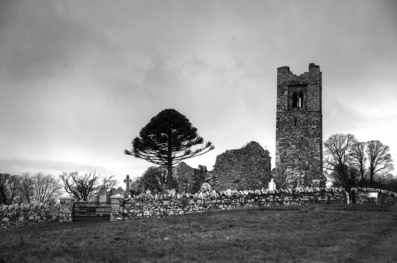 Baltinglass Cemetery in County Wicklow, Ireland