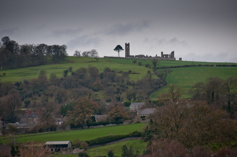 Landscape view of the Irish countryside