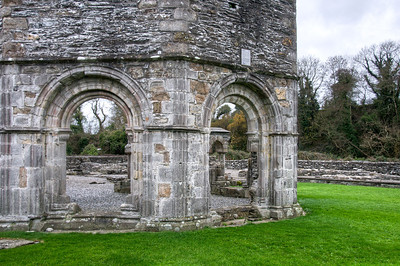 The Old Mellifont Abbey in County Louth, Ireland