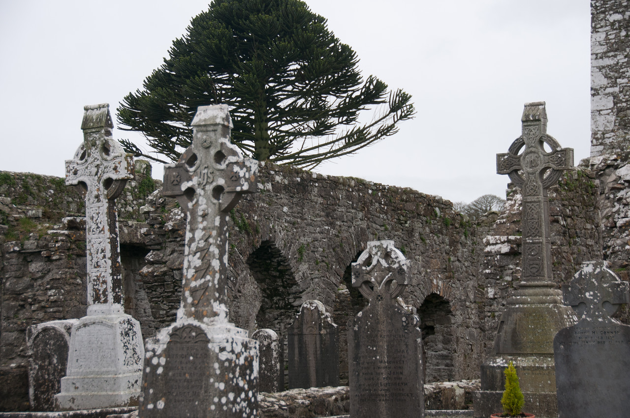 An ancient burial site at County Meath, Ireland