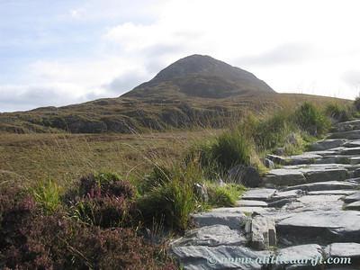 Diamond Hill in the Connemara National Park