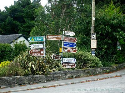 Confusing Irish Road Signs