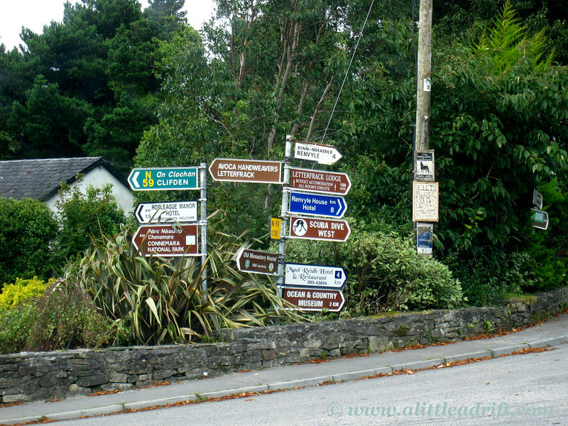 irish road signs