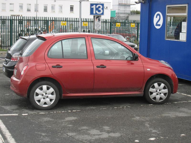 my rental car in ireland
