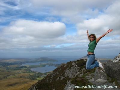 Joy at Connemara's Diamond Hill