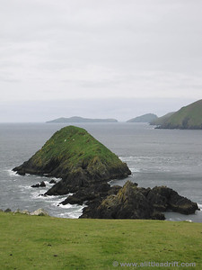 Looking out over the Blasket Islands