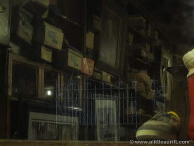 Inside Dick Mack's Pub
