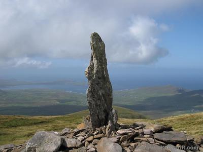 Standing stone - the half-way marker
