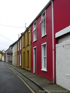 Streets of Dingle town