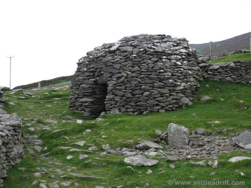 ancient beehive huts