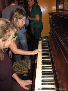 Playing the Piano for Entertianment at Dick Mack's