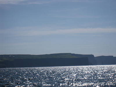 Cliffs of Moher from a distance