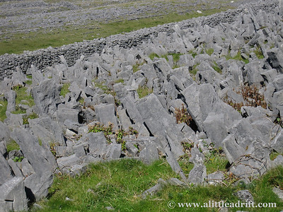 Defense Stones at Dun Aengus Fort