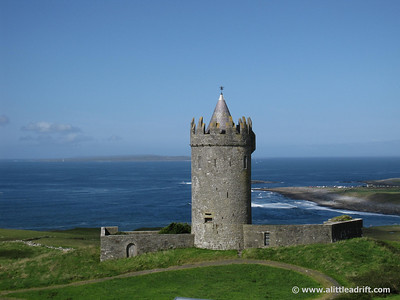 Castle near the Clifs of Moher