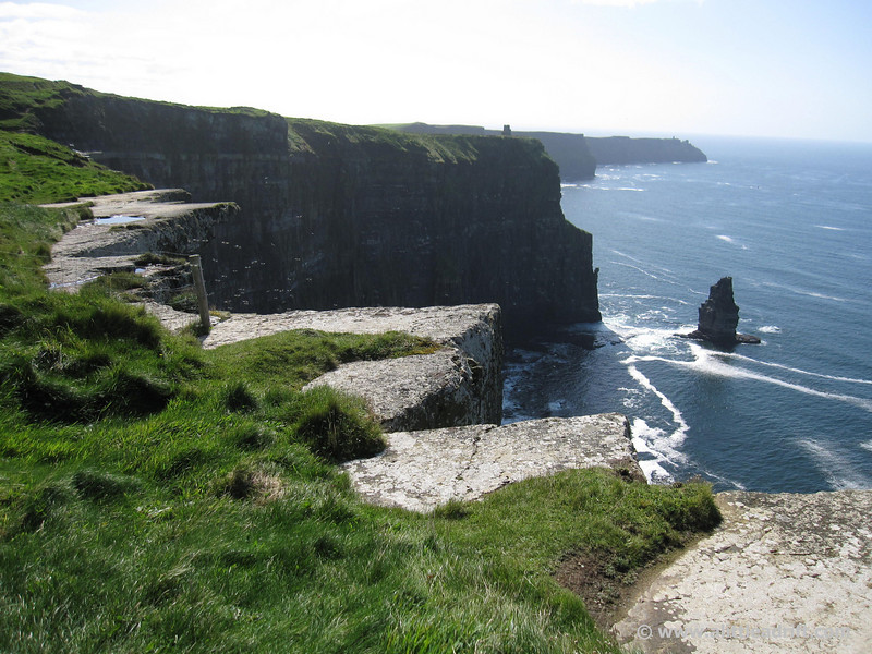 cliffs of moher without the tourists