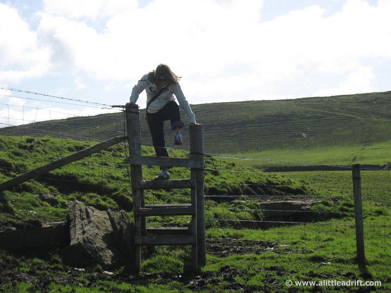 alternative way to the cliffs of moher from doolin