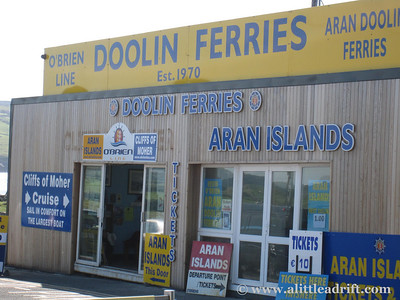 Ferry over to the Aran Islands