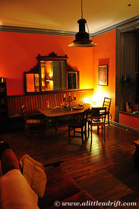 Dining room at Hostel, photo by Eva R, who took such lovely photos of the hostel :)