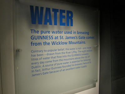 Water: A Guinness Ingredient