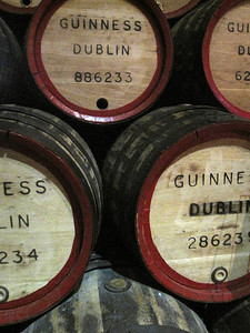 Guinness Factory Barrells