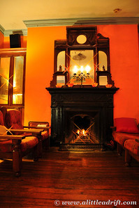 Peat Fireplace, photo by Eva R, who took such lovely photos of our hostel :)