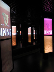 Dublin Guinness Factory DIsplay