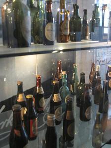 Guinness Bottles through time