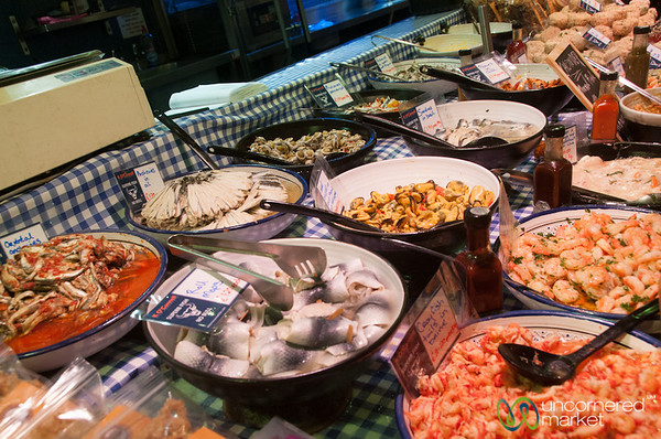 English Market, Seafood Options Galore - Cork, Ireland