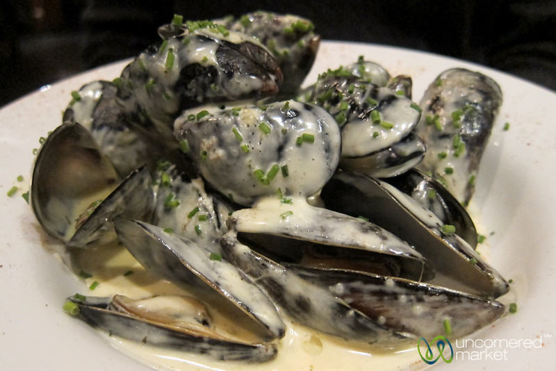 Mussels in White Wine Sauce - Westport, Ireland