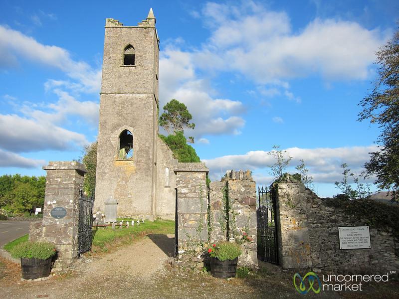 Killowen Church and Graveyard - Ring of Kerry, Ireland