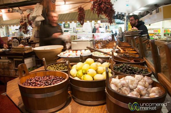 English Market, Olives and Mediterranean Specialties - Cork, Ireland