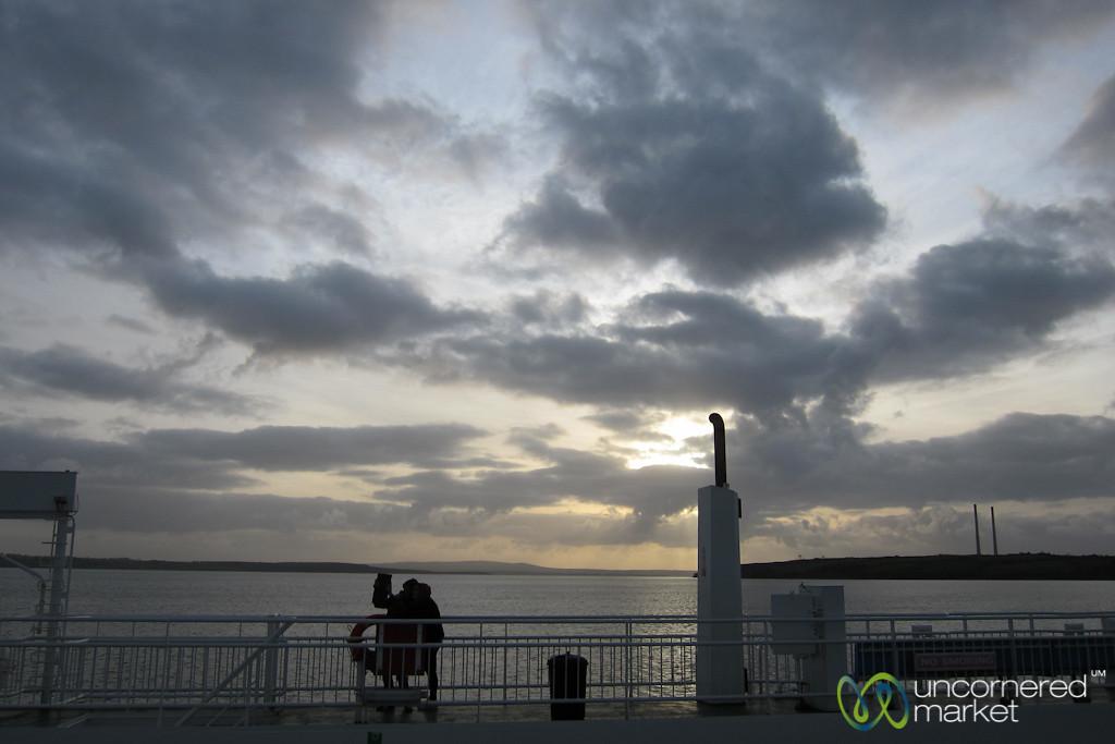 Shannon Ferry, Killimer to Tarbert - County Clare, Ireland