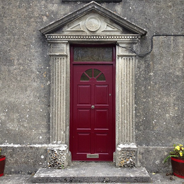 Favorite doorway candidate #30. Stately old stone in The Burren. Ballyvaughn, Ireland #dna2ireland