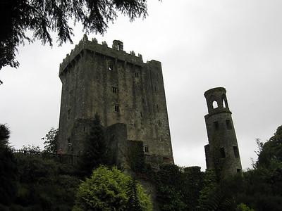 Blarney Castle through Rain