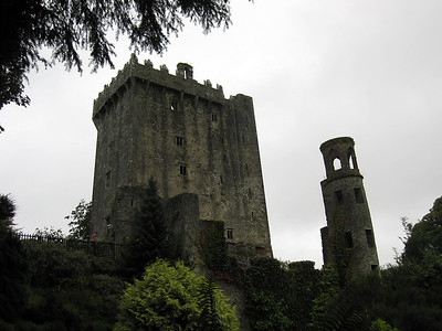 Blarney Castle through Rain