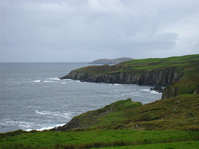 Lush Green Irish Coast