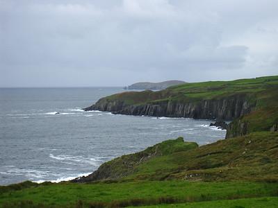 Lush Green Irish Coast