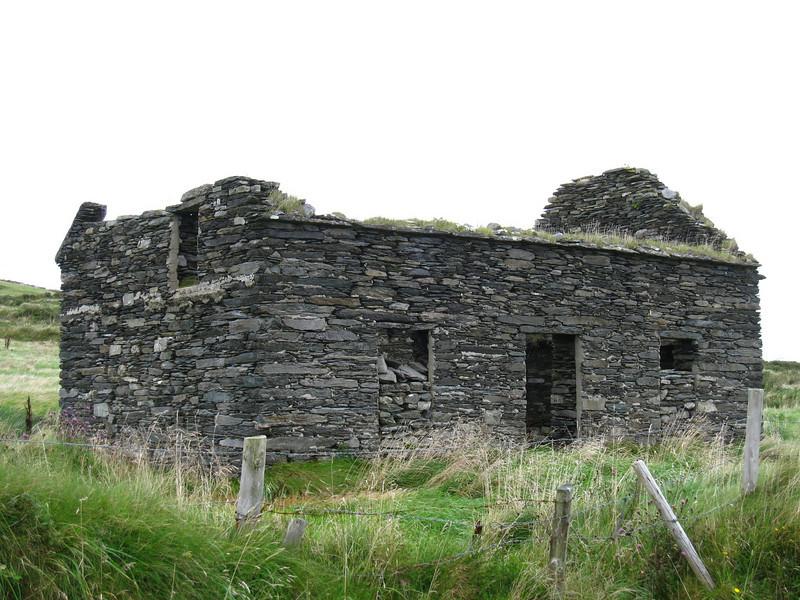 stone traditional Irish house