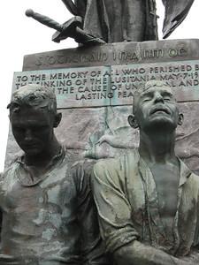 Memorial to the Sinking of the Lusitania
