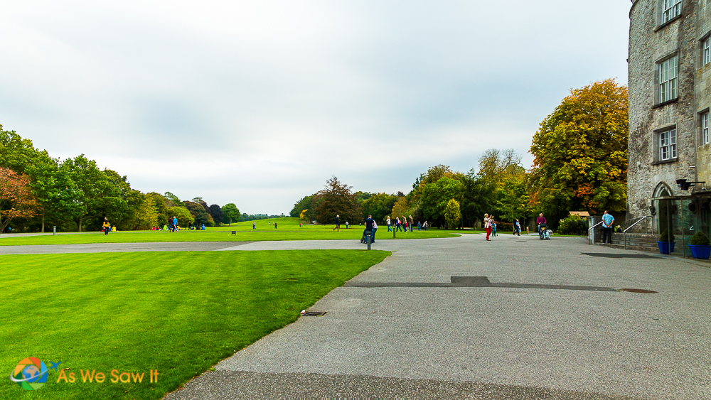 The grounds of Kilkenny Castle