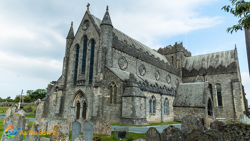 St. Canice Cathedral and graveyard