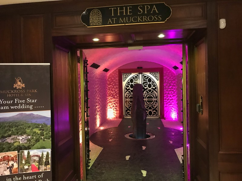 Muckross Park Hotel Room - Spa Entrance