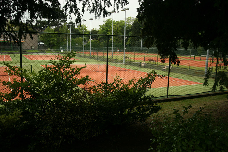 Mount Pleasant Tennis Club across the street