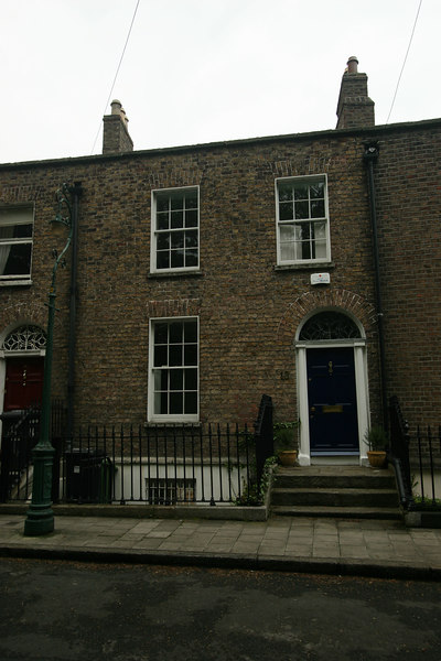 Our first house in Ranelagh, #13 Mt Pleasant Square
