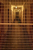Entering dog prison.