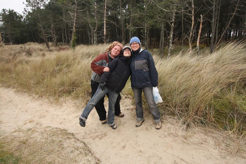 Lee, Terri, and Katia in Wexford