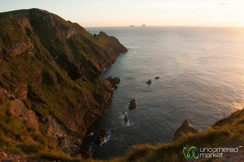 Cliffs of Kerry at Sunset - Ireland